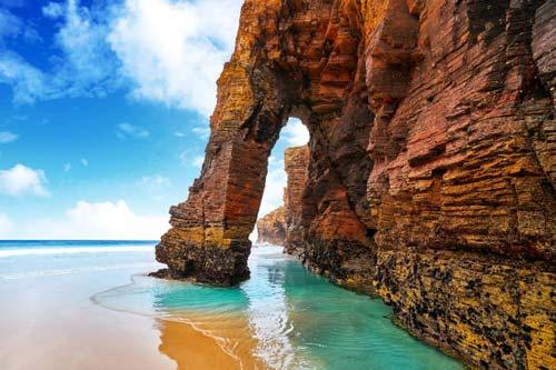 playa catedrales galicia