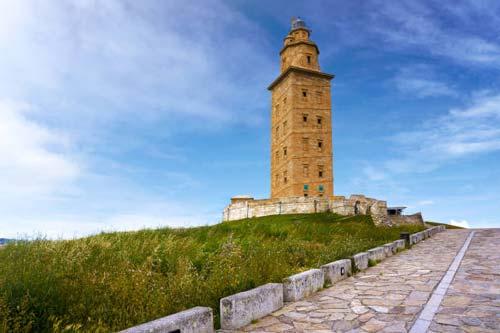 Viajar a Coruña