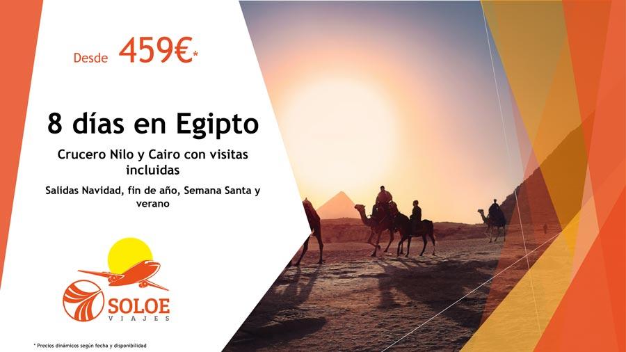 Oferta de viaje Egipto